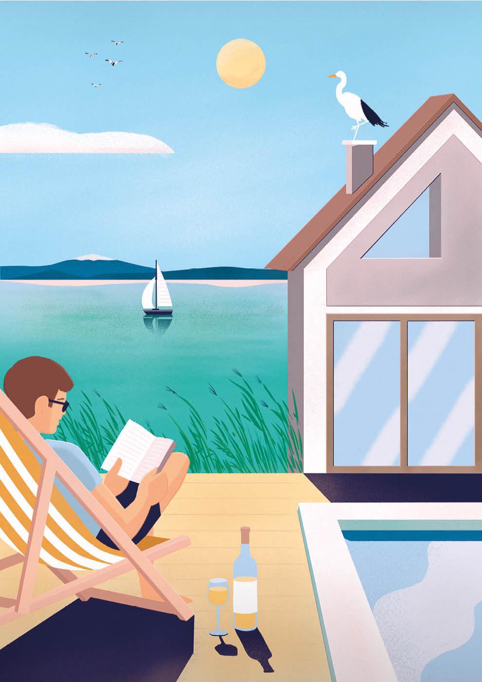 Sundeck Weiden - Ferienwohnungen Weiden See